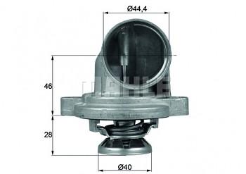 Termostat MERCEDES V-CLASS (W638) V 230 2.3 (80°)