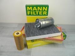 Sada filtrů VW GOLF IV 1.9TDI 1.9SDI