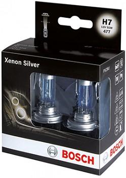 Žárovky H7 BOSCH Xenon Silver - sada 2ks