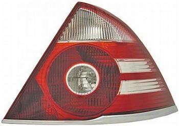 Světlo zadní FORD MONDEO SDN/HB 05-07 bílý blinkr, stříbrný rámeček