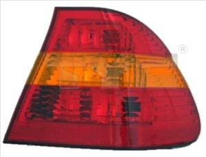 Světlo zadní BMW 3 E46 SEDAN 01-05 vnější červeno-oranžové