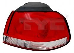 Světlo zadní VW GOLF VI 08- vnější