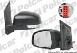 Zpětné zrcátko FORD FOCUS II 08-10 elektrické s blinkrem