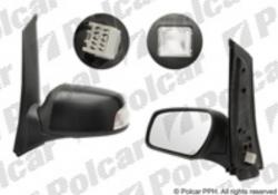 Zpětné zrcátko FORD C-MAX 03-10 s osvětlením prahu