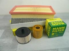 Sada filtrů PEUGEOT 407 2.0 HDI 100kW