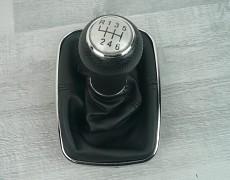Řadící páka s manžetou VW GOLF IV BORA silver