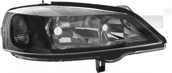 Světlo přední OPEL ASTRA G 98-09 černé