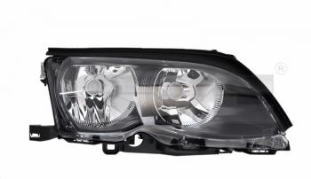 Světlo přední BMW 3 E46 01-05 titan