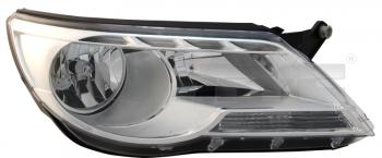 Světlo přední VW TIGUAN 5N 07-11