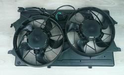 Ventilátor chlazení chladiče FORD FOCUS 1.4 1.6 1.8 16V s klimatizací