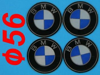 Znak logo BMW 56mm na kola disky 4ks sada