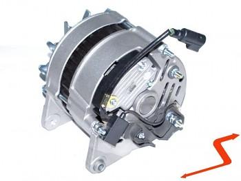 Alternátor Ford ESCORT 1.3 s konektorem na kabelu