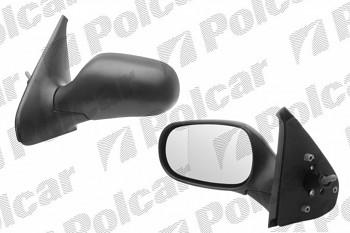 Zpětné zrcátko RENAULT CLIO II 98-01 manuální