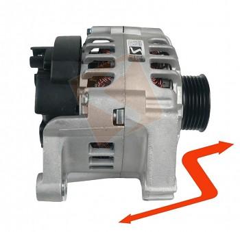 Alternátor PEUGEOT 306 405 II 1.9 diesel