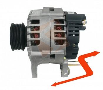 Alternátor VW POLO (6N2) 1.9 diesel