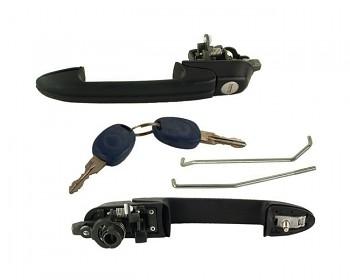 Klika levá přední a klíče FIAT MAREA 185 96-02