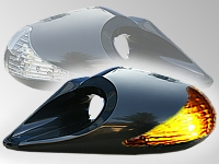 Zpětné zrcátka K6 TUN LED blinkr - BMW E46 SEDAN 4D