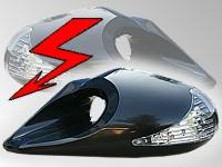 Zpětné zrcátka K6 FULL LED vyhřívané elektrické - BMW E34 E 34