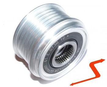 Volnoběžka řemenice pro alternátor FIAT OPEL 1.3 CDTI INA 535006310