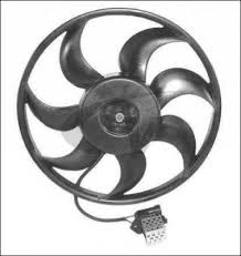 Ventilátor OPEL ASTRA G 1.7D 2.0D 2.2D