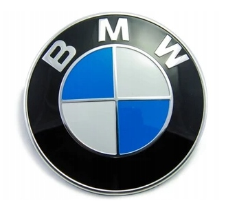 BMW logo znak 3 5 7 E30 E34 E36 E38 E39 E46 - 82mm