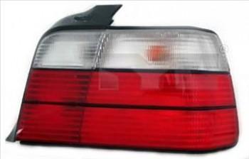 Světlo zadní BMW 3 E36 SEDAN 90-00 červeno-bílé