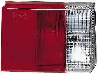 Světlo zadní AUDI 80 B3 86-91 vnitřní AXO SCINTEX