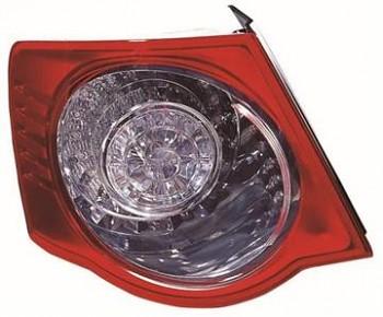 Světlo zadní VW JETTA/GOLF KOMBI 05-08 vnější LED