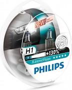 Žárovky H1 PHILIPS X-TremeVision - sada 2ks