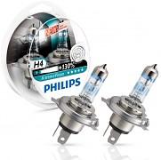Žárovky H4 PHILIPS X-TremeVision - sada 2ks