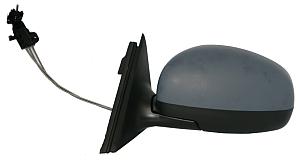 Zpětné zrcátko ŠKODA FABIA II 07-10 manuální černé
