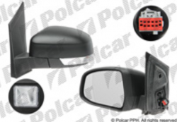 Zpětné zrcátko FORD FOCUS II 08-10 s blinkrem a osvětlením prahu