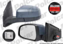 Zpětné zrcátko FORD MONDEO Mk4 07-10 s osvětlením prahu