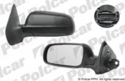 Zpětné zrcátko VW BORA 98-05 elektrické černé