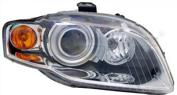 Světlo přední AUDI A4 B7 04-06 bi-xenon