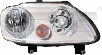 Světlo přední VW CADDY III/LIFE 2K 04-10 bez motorku