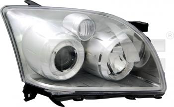 Světlo přední TOYOTA AVENSIS T25 06-08