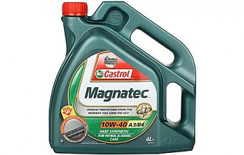 Olej CASTROL 10W-40 Magnatec A3/B4 - 4L