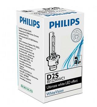 Xenonová žárovka PHILIPS WhiteVision D2S 85122WHVC1