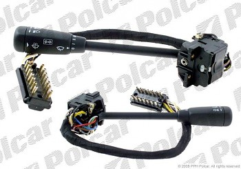 Přepínač blikrů a stěračů MERCEDES 190 W201 15 kontaktů