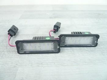 LED osvětlení SPZ VW Passat B6 Golf IV V VI 4 5 6