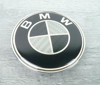 Znak logo BMW 68 mm disky kol CARBON