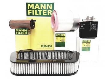 Sada filtrů AUDI A8 D3 3.0TDI