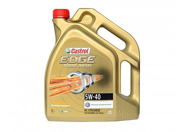 Olej CASTROL 5W-40 EDGE TURBO DIESEL - 5L