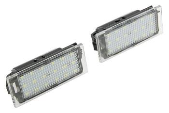 LED osvětlení SPZ Renault Megane II 2 Laguna III 3