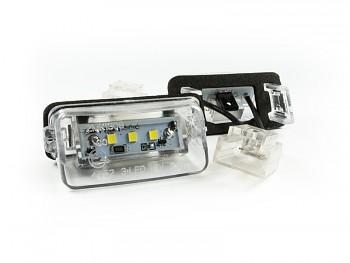 LED osvětlení SPZ Peugeot 206 207 308 407