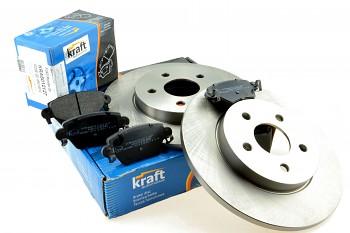 Brzdy kotouče a desky zadní FORD MONDEO III MK3 - KRAFT