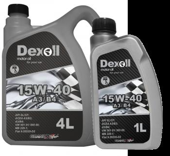 Olej Dexoll 15W-40 A3/B4