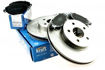 Brzdy kotouče a desky přední FORD MONDEO Mk3 III - KRAFT