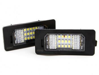 LED osvětlení SPZ BMW E39 E60 E61 E82 E88 E90